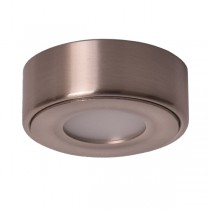 LED Kitchen Cabinet Light Anova Round Surface Mounted Nickel