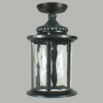 Argyle Outdoor Eave Lights Black Exterior Lighting Period
