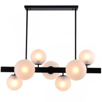 Pendants Lights Dining Table Aston Matt Black Modern Contemporary Cafe Foyer Lighting