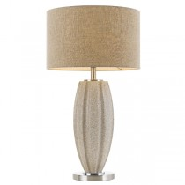 Table Lamps Axis Cream Lights Modern Stone Telbix Lighting