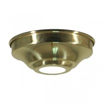 Batten Cover Polished Brass Traditional Period Lighting