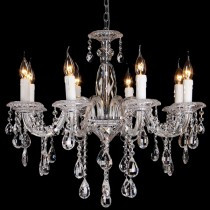 Large Crystal Chandelier Berlin 8 Lights Classical Lighting Lode International