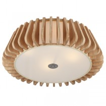 Wooden Lights Blade Flush Lighting Ceiling Modern Timber CTC