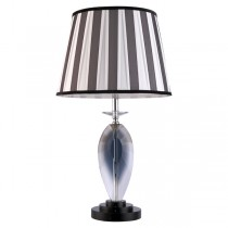 Table Lamps Brooke Smokey Grey Lights Fabric Hotel Shade Lighting
