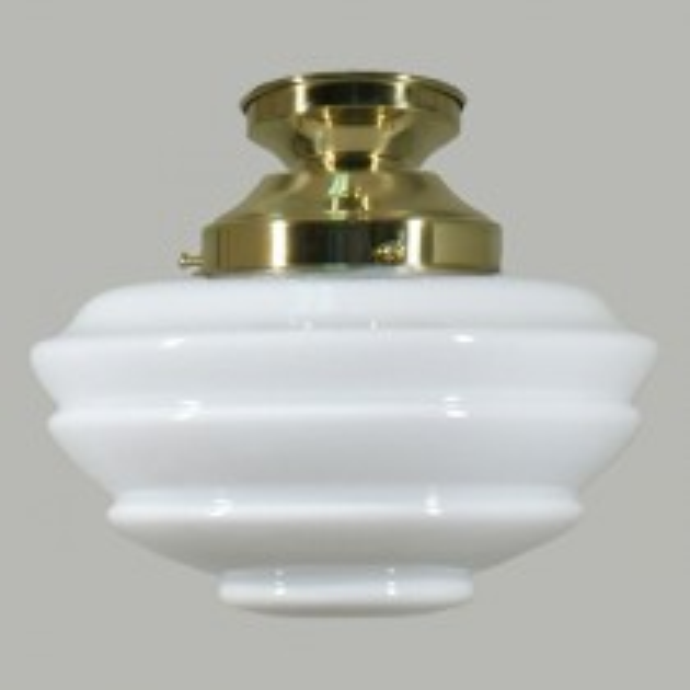 Cannes DIY Period Brass Lighting Lode Glassware Batten Fix Lights