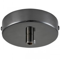 Black Chrome Canopy Pendants Lights Ceiling Plate Lighting Accessories