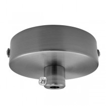 Small Pendant Canopy Ceiling Plate 60mm Lights Nickel