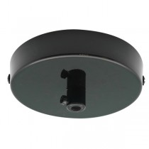 Black Canopy Pendant Light Ceiling Plate
