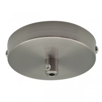 Canopy Pendant Light Nickel Ceiling Plate