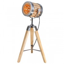 Timber Tripod Table Lamps Lighting Carlton Marden Design
