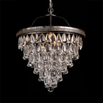 Cascade Lighting Basket Pendants Chandelier Lights Ceiling Crystal