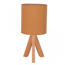 Timber Table Lamps Cassy Taupe