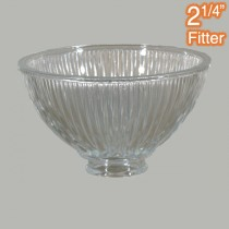 Claredon Small Glass Shade Clear