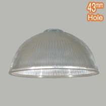 Claredon Medium Glass Shade Clear