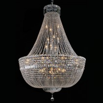 Grand Crystal Chandelier Basket Lighting Classique Lights Pendants Ceiling