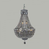 Traditional Crystal Basket Lighting Classique Medium Lights Ceiling Chandeliers