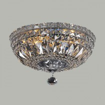 Classique Crystal Basket Lighting CTC Lights Ceiling Flush Lode International