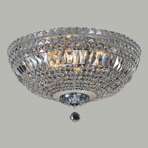 Classical Crystal Lighting Classique CTC Lights Ceiling Flush Lode International