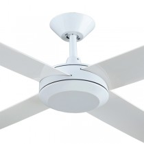 "Ceiling Fans Sweep Bedroom Concept3 52"" AC Polymer White Hunter Pacific"