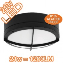 LED Bunker Wall Lights IP65 SE7084L LED 21w SAL Cooper Outdoor Lighting
