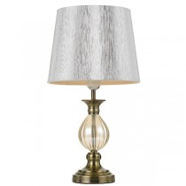 Traditional Table Lamp Crest Antique Brass Lights Telbix Lighting