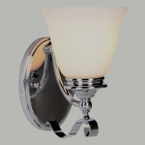 Dallas Interior Wall Lighting Sconce Chrome Lode International Lights