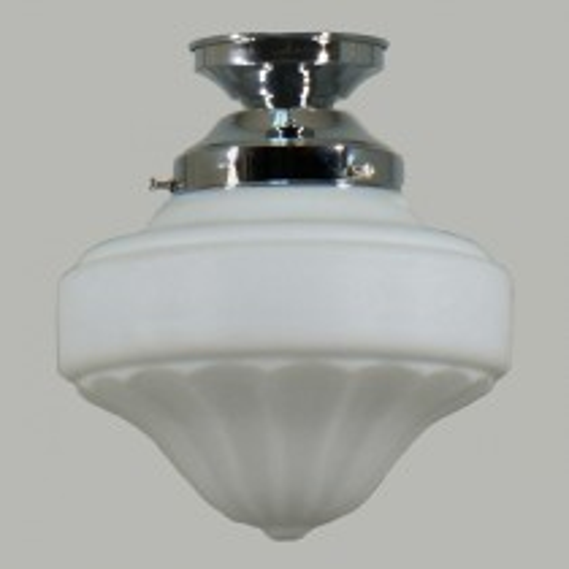 Chrome Derby DIY Lighting Batten Fix Period Glassware Lights Lode International