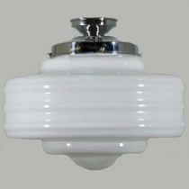 Art Deco Retro Lighting Detroit DIY Lode International Batten Fix Glassware Lights
