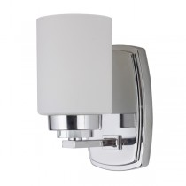 Dover Wall Lights Chrome Vanity Sconce Contemporary Lighting Lode International