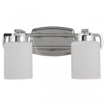 Chrome Bathroom Lights Wall Dover Vanity Sconce Contemporary Lighting Lode International