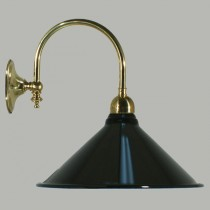 Heritage Wall Lighting Retro Black Brass Edwardian Lights Lode International