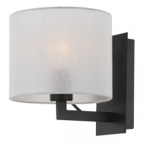 Elgar Wall Lights Black Telbix Sconce Lighting