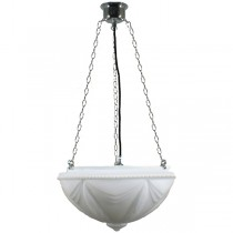 Chrome Empire 3 Chain Pendants Suspensions Lode Lighting Traditional Period Lights