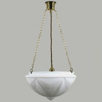 Empire 3 Chain Pendants Suspensions Lode Lighting Brass Traditional Period Lights