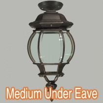 Bronze Under Eave Lighting Exterior Flinders Period Outdoor Lights