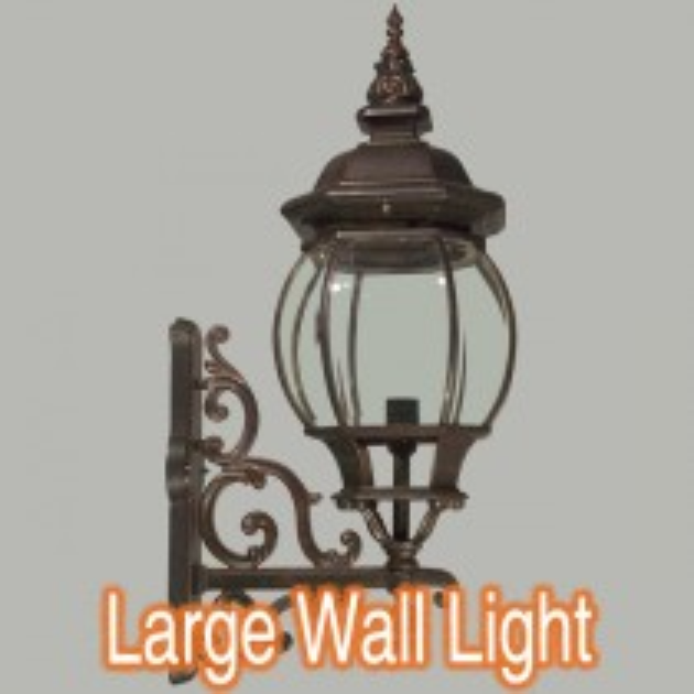 Large Bronze Lighting Wall Exterior Outdoor Lights Flinders Traditional