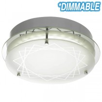 Fosco 20w Dimmable LED Oyster Light