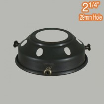 Black Components Lights 2.25 inch Gallery Traditional Period Lighting