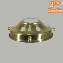 Components 3.25 inch Gallery Polished Brass Traditional Period Lighting