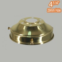 4.25 inch Gallery Polished Brass Traditional Period Lighting