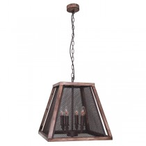 Industrial Lighting Pendants Cage Lantern Lights Cheap Ceiling Cafe