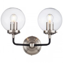 Replica Silver Aluminium Bistro Ian Fowler Wall Lights Sconce Industrial Goth Lighting