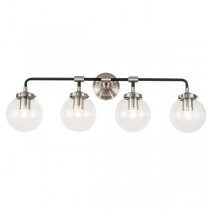 Nickel Silver Sconce Industrial Lighting Goth Wall Lights Replica Bistro Ian Fowler