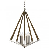 Graf 5 Lantern Lighting Lights Pendants Timber Ceiling Telbix