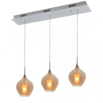 Contemporary Lighting Glass Pendant Light