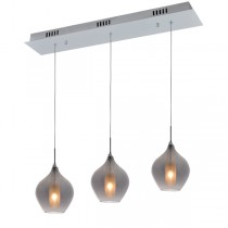 Contemporary Glass Cafe Hanging Lights Pendants Lighting Bench