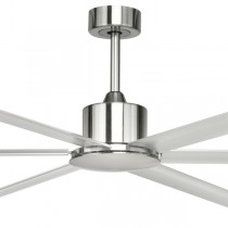"Aluminium Large Ceiling Fans Hercules 84"" DC Metal 6Blade Brilliant Lighting"