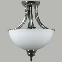 Houston Chrome Lights Semi Flush Mount Ceiling Lighting Lode International