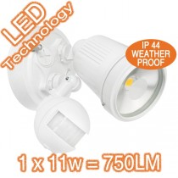 LED Sensor Flood Lights Security Outdoor Lighting 19975/05 Exterior