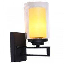 Jenna Indoor Wall Lights Contemporary Lighting Black Matte